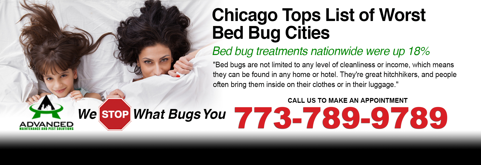 Chicagos Bed Bugs Pest Control